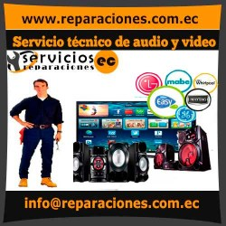Servicio técnico de audio y video reparacionesec